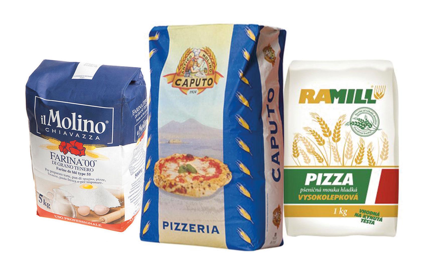 Mouka na pizzu je základní surovinou k upečení výborné pizzy