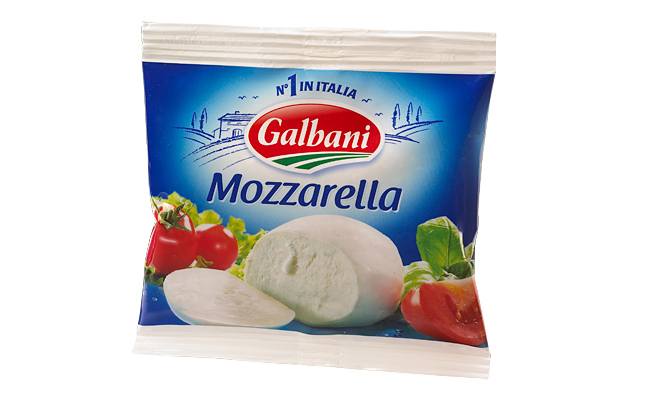 Co dát na pizzu - Mozzarella na pizzu